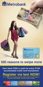 MetroBank ad
