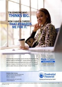 Prudential Financial ad