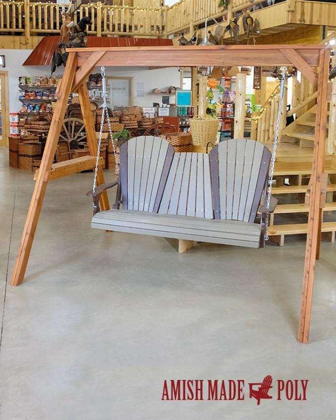 Amish Made Poly 5' Swing
