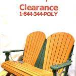 Amish Made Adirondack 4ft Swing - Cedar on Woodland Green