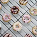 Mini Iced Doughnuts