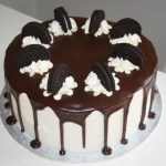 Chocolate Oreo Layer Cake