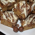 Malteser Blondies