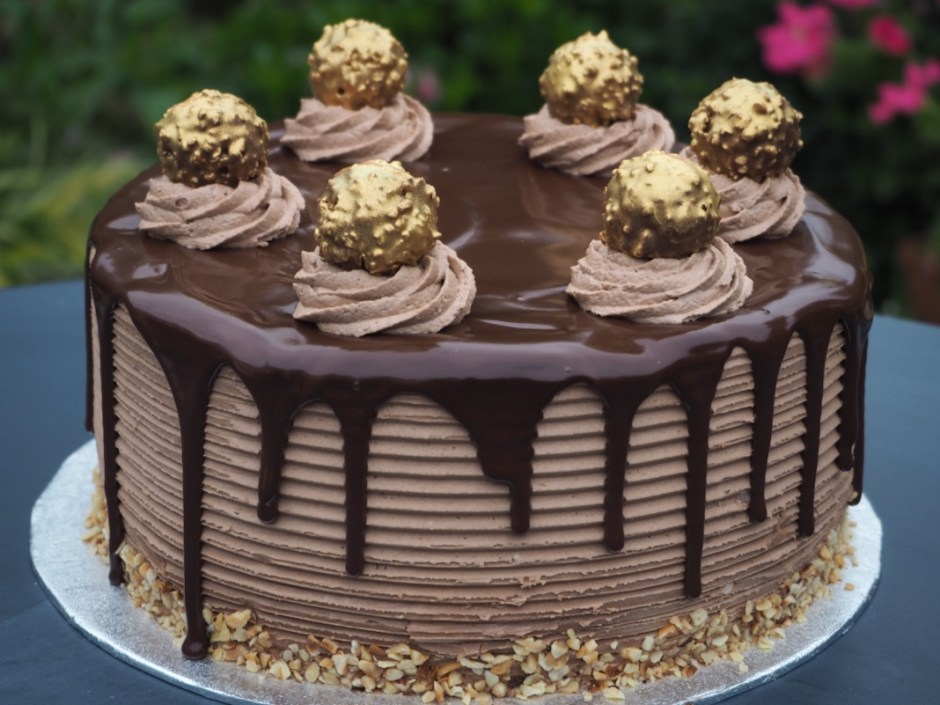 Chocolate Nutella Birthday Cake Recipe