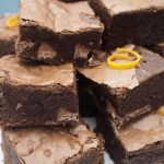 Terry's Chocolate Orange Fudge Brownies