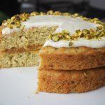 Pistachio, Courgette & Lemon Cake