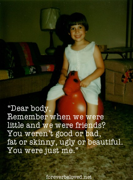 An Open Letter to My Body