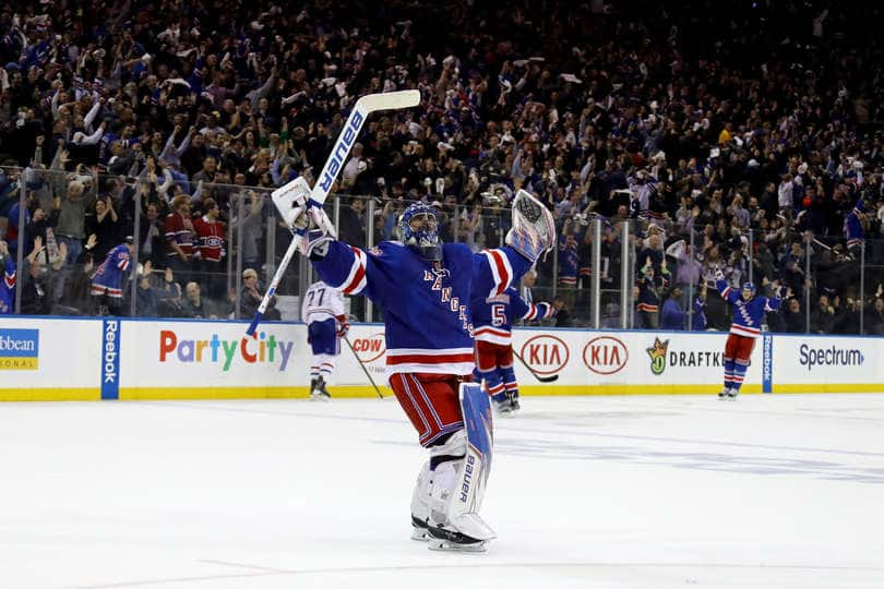 Rangers Lundqvist Named Finalist For King Clancy Trophy Forever