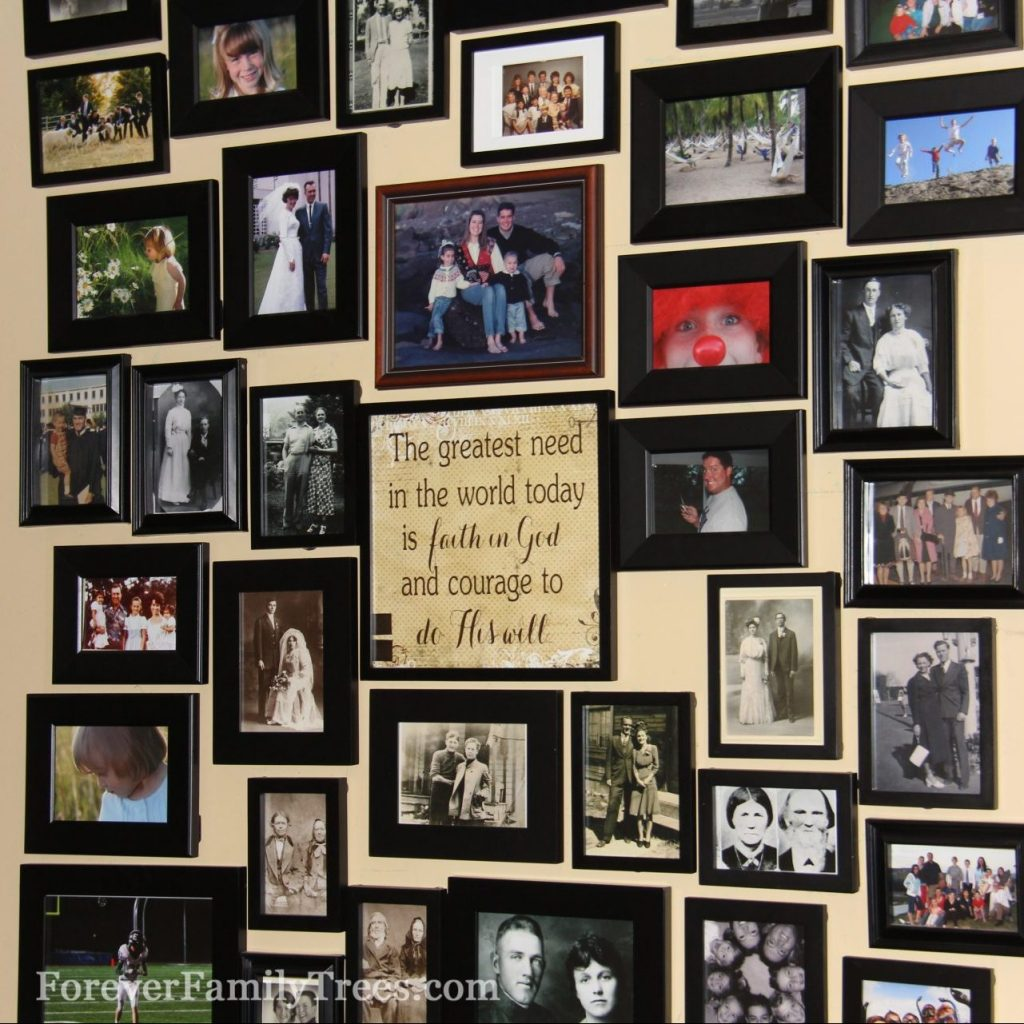 Forever Family Tree magnetic wall
