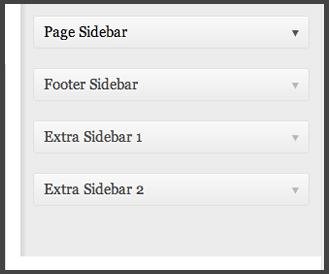 Extra Sidebars