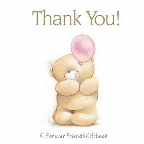 Thank You Forever Friends Book Forever Friends Official