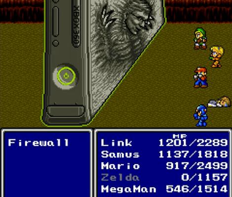 Xbox Vs Nintendo - Final Fantasy Style