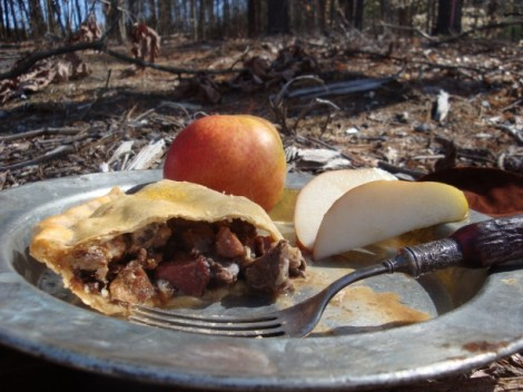 Medieval Beef and Bacon Pie
