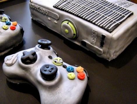 Xbox360 Carrot Cake