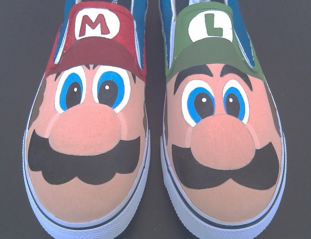 Mario and Luigi Shoes
