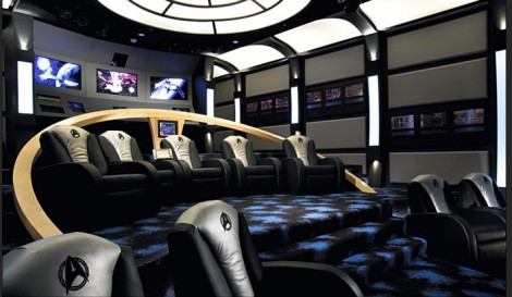 startrektng 470x273 10 Awesome Home Theaters