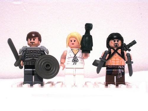 Game of Thrones LEGO Minifigs Daenerys
