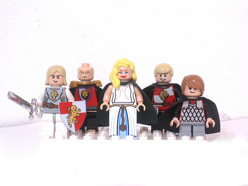 Game of Thrones LEGO Minifigs Lannister
