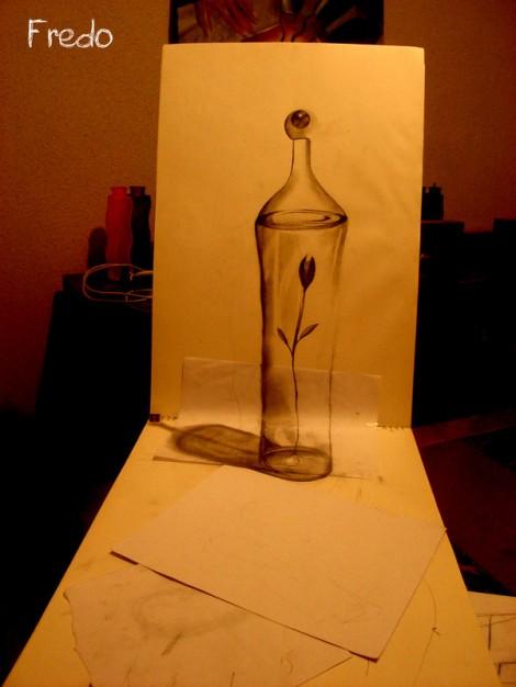 Bottle by FredoART