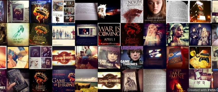 Game of Thrones Facebook InstaCover