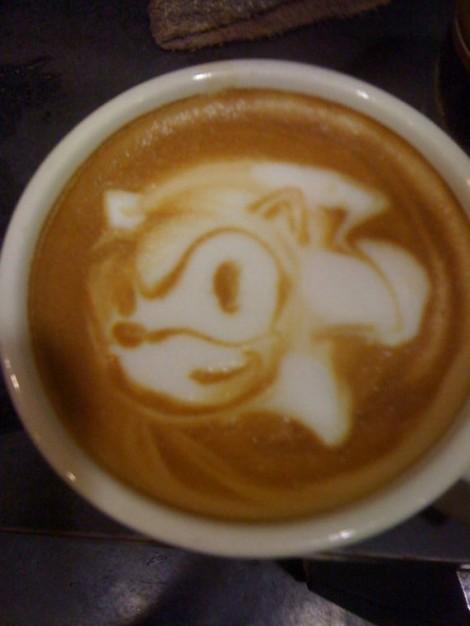 Geeky Coffee Art