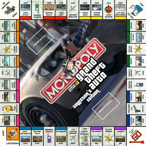 monopoly homemade board games grand theft auto