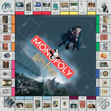 monopoly homemade board games harry potter
