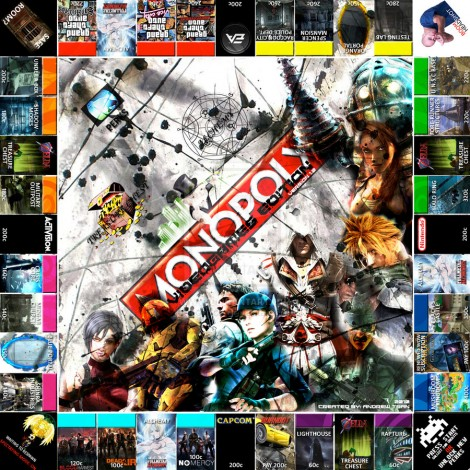 monopoly homemade board games video games