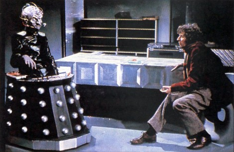Davros and Four Classic Doctor Who