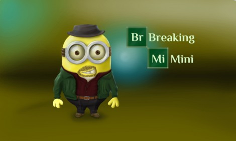breaking bad mashup despicable me minions