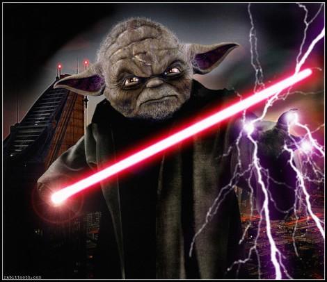 darth yoda dark side evil jedi