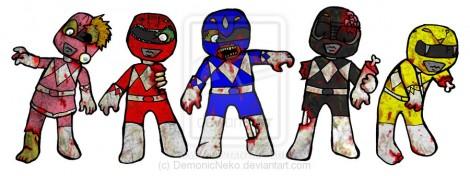 zombie power rangers