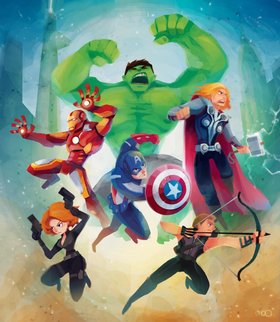 disney infinity marvel avengers