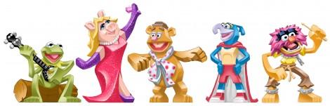 disney infinity muppets kermit piggy gonzo fozzie animal