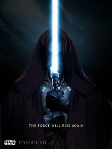 star wars episode vii 7 poster fan art