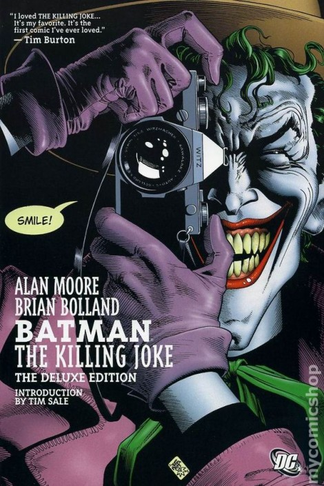 The Killing Joke sees Batman deal with The Joker's twisted plot to drive him and Commissioner Gordon as nutty as the clown has become