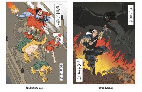 Ukiyo-e-Heroes-mariokart