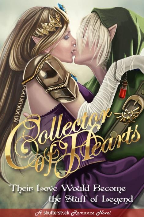 Zelda romance novel cover