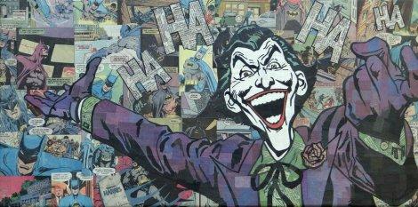 Comic Collage - Joker
