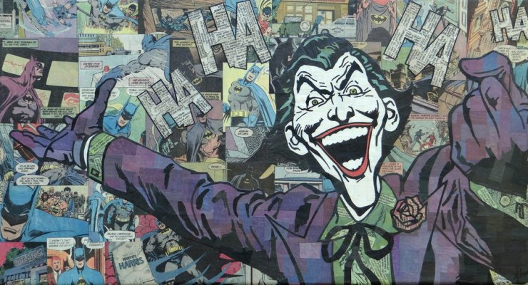 Comic Collage - Joker