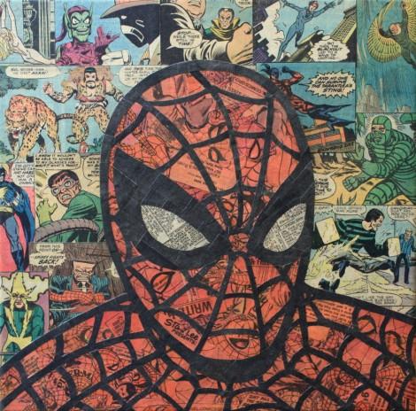 Comic Collage - Spider-Man