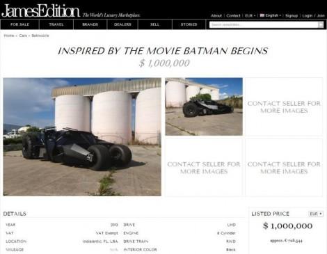 batman tumbler james edition screencap