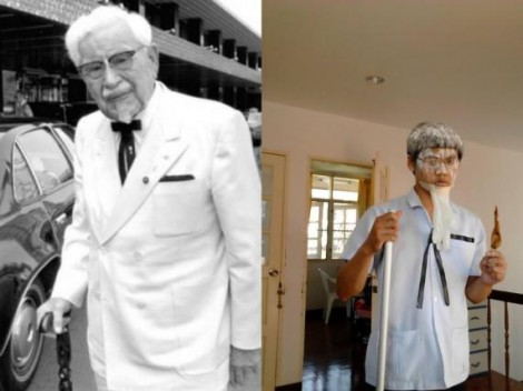 Lowcost Cosplay - Colonel Sanders
