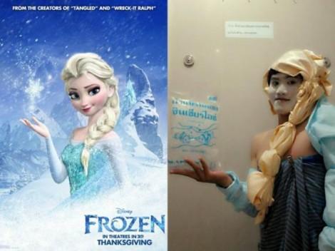 Low cost Cosplay - Elsa