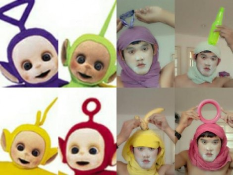 Low cost Cosplay - Teletubbies