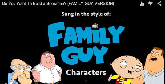 Frozen Family Guy