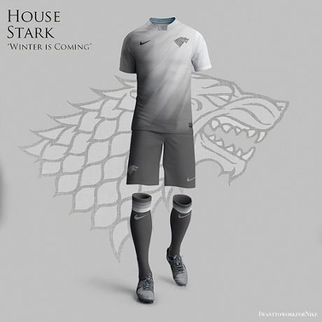 Game of Thrones World Cup Kits