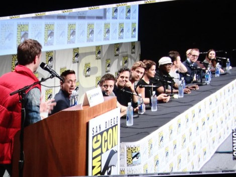 SDCC 2014 - Marvel Avengers Age of Ultron cast