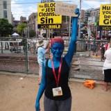 SDCC 2014 - Mystique Mutant and Proud
