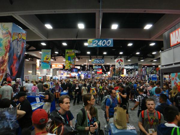 SDCC 2014 Comic-Con show floor crowd